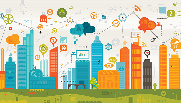 大力推动能源互联网的建设,把集中式的,单向的电网